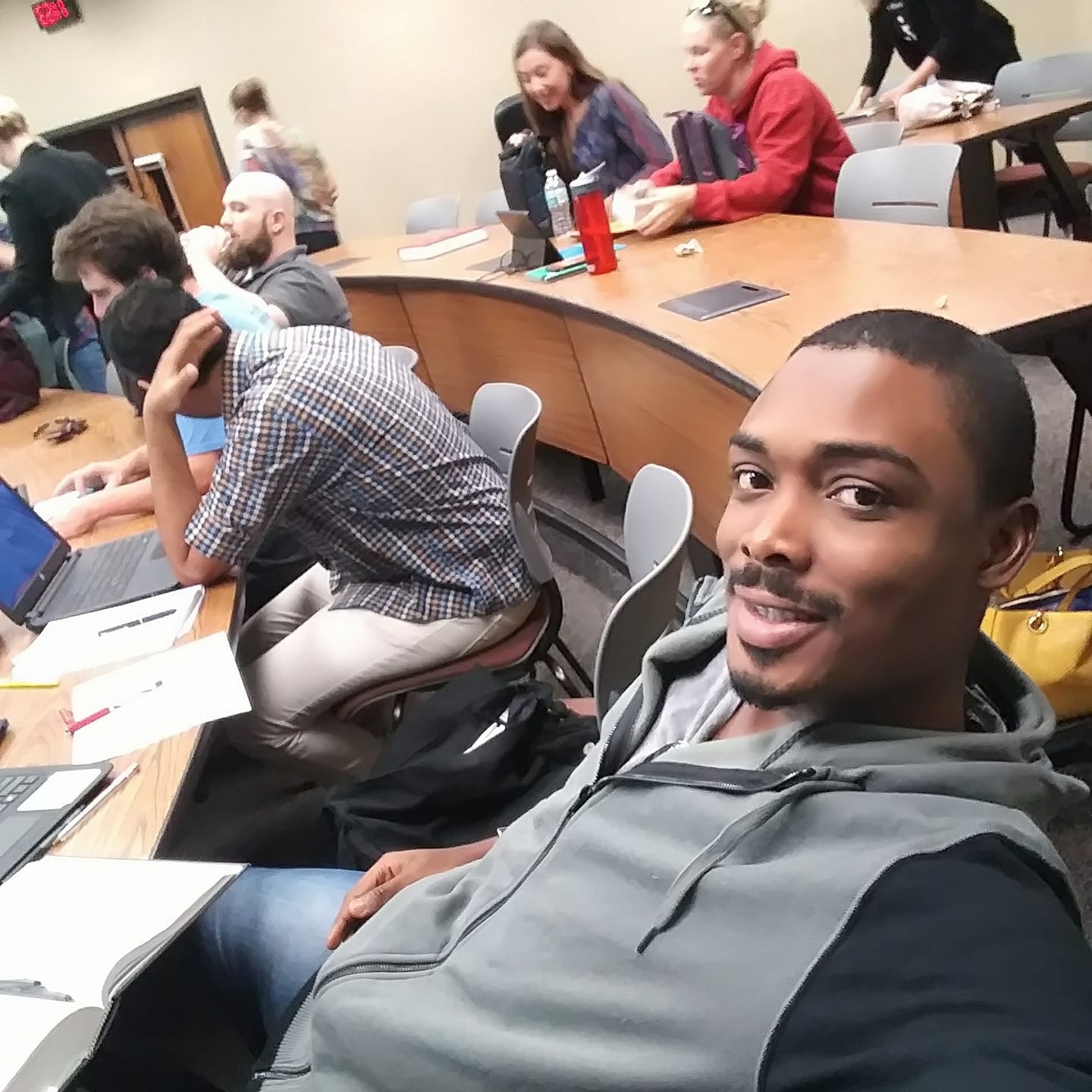 Nathaniel Ovabor attends law school at Stetson.