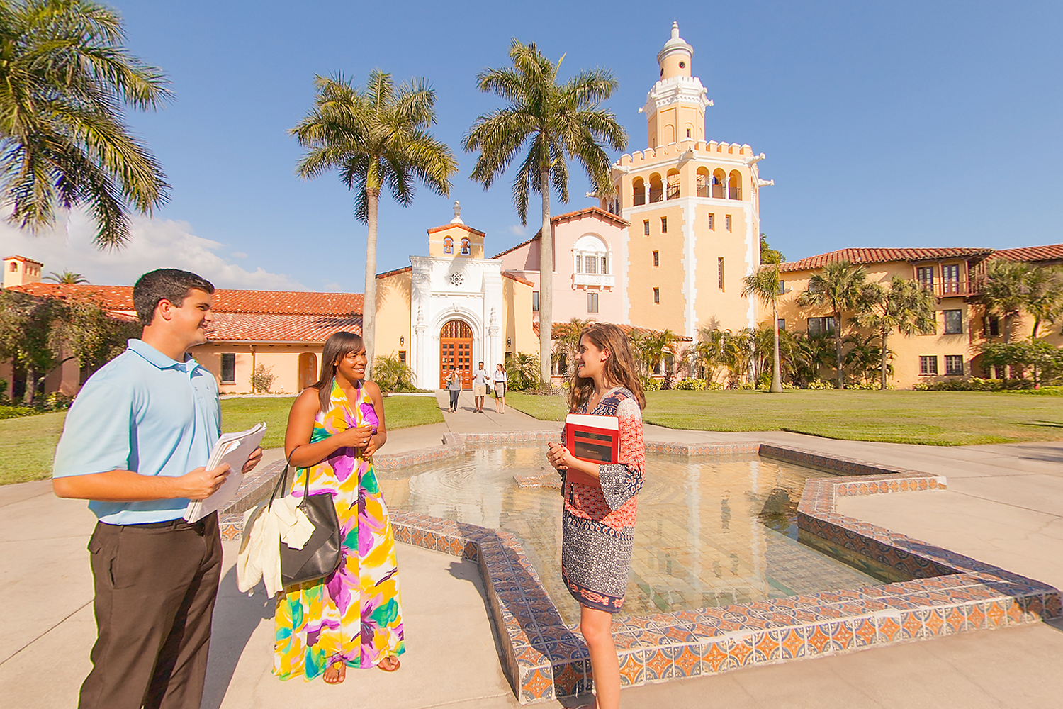 Students at Stetson